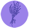 Lavender Button